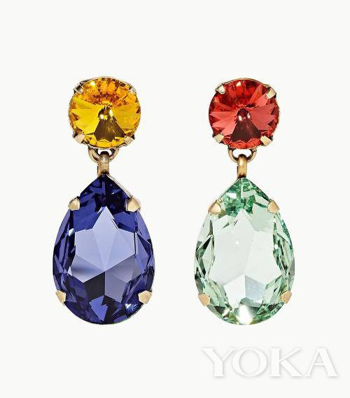 小众珠宝品牌满满新鲜感 不规则耳环佩戴时增加趣味性