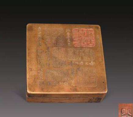 """收藏铜墨盒无需一头扎进""""寅生刻""""的""""海洋"""""""