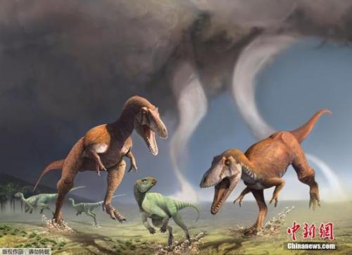 俄发现恐龙新物种 1.2亿年前曾居住在地球上