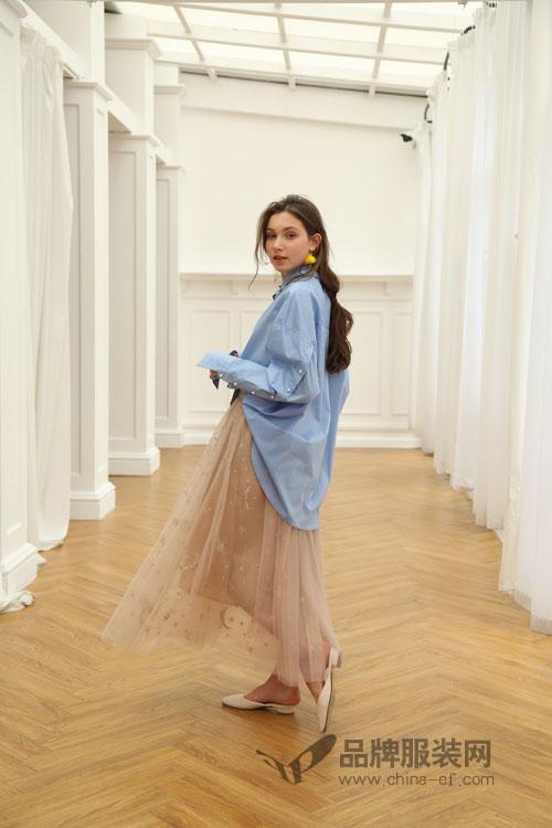 欧玥女装品牌2018春季新装悄然上市
