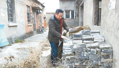 市民爱好收藏古砖 欲筹建民间博物馆集中展出