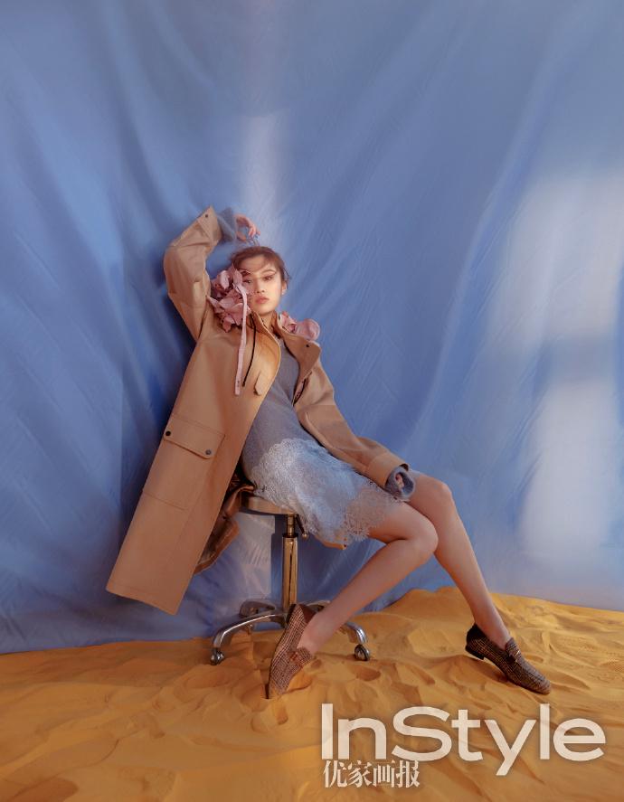 张慧雯最新写真照 森女风穿搭仙气与少女感十足