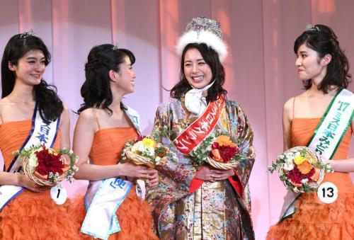 2018日本小姐出炉 透露保持美丽的秘诀是多流汗