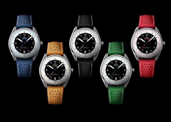 欧米茄发布5款全新海马奥运会系列腕表 致敬品牌非凡的奥运计时传奇