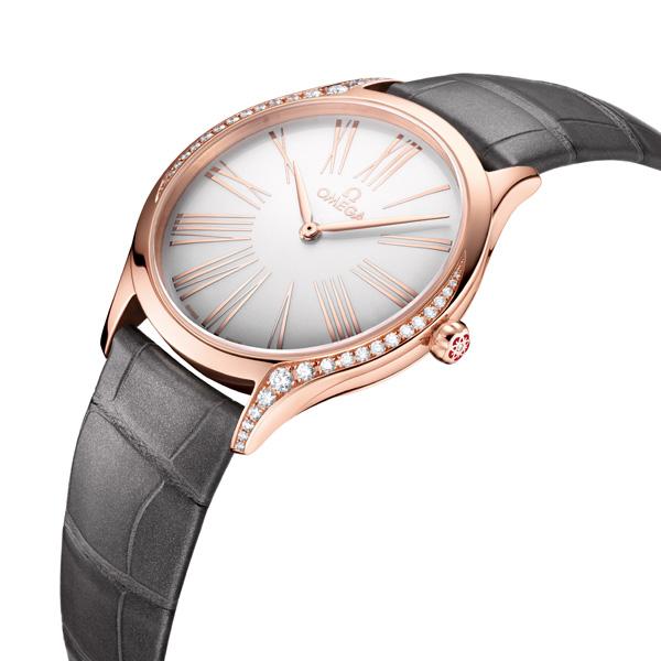 欧米茄(OMEGA)推出2018全新碟飞名典系列女士腕表
