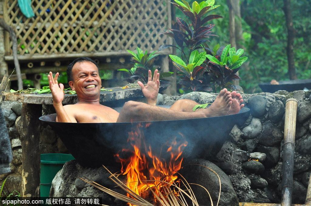 菲律宾奇葩热水浴 体验一种独一无二被煮的感觉