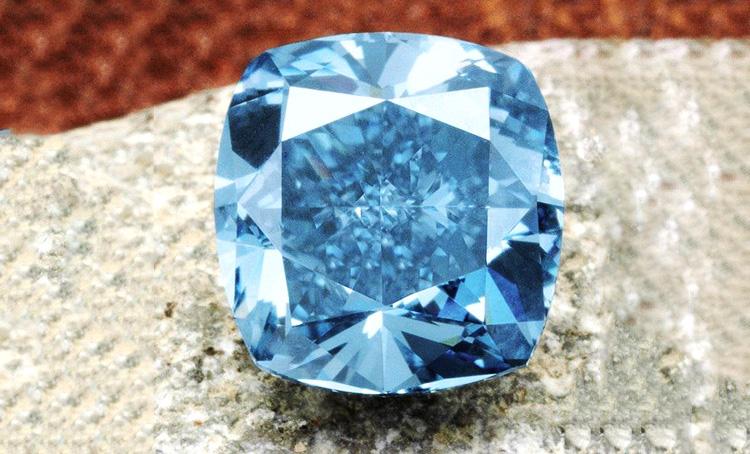 蓝钻石含义