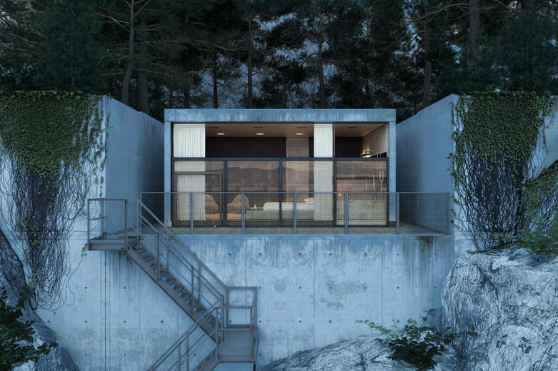 Chair House豪宅:为居住者提供一个舒适安宁的居住环境