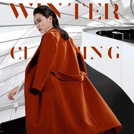 佳纷(JIAFEN)御寒冬装 展现都市女性自信与风采