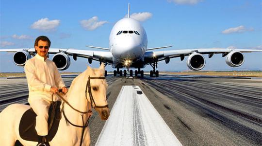 """世界最大最奢华的私人飞机 被称为""""飞行宫殿"""""""