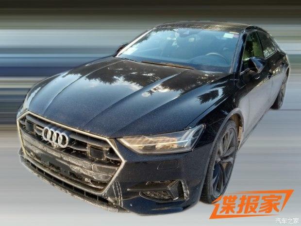 新奥迪A7 Sportback国内谍照 保持四门轿跑车的风格特征