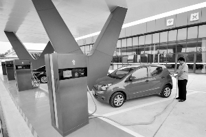 国家能源局:新能源车充电设备建设增长 但利用率不高