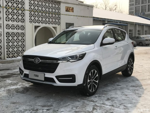 天津一汽骏派T086首发 或于2018年第三季度上市