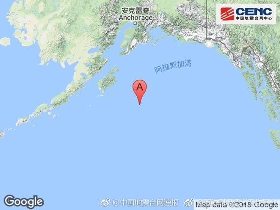 美国阿拉斯加8级地震 美国海啸预警部门发出海啸预警