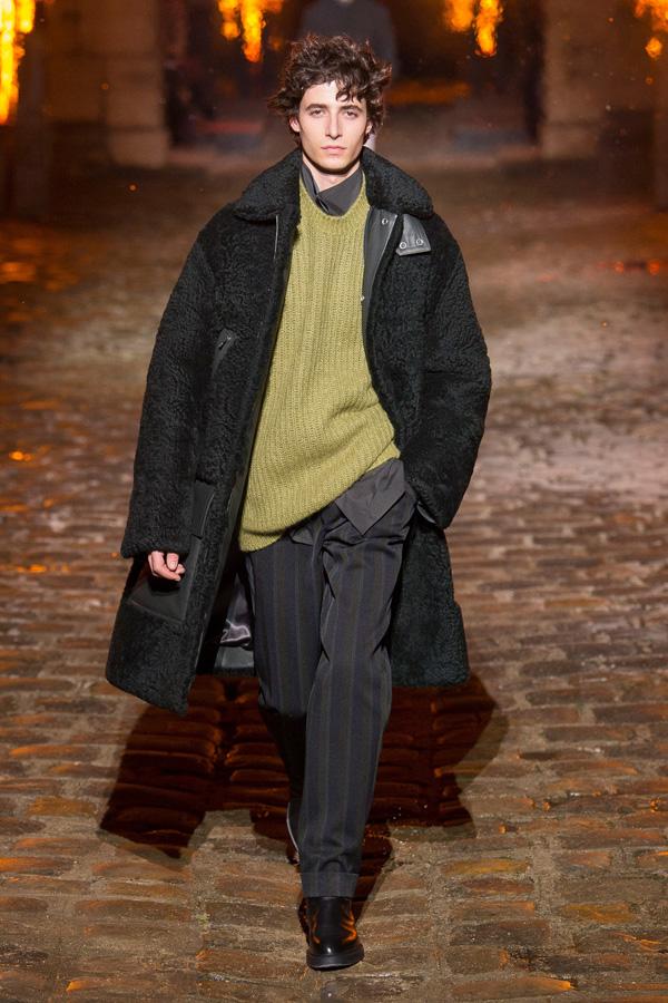 Hermès(爱马仕)于巴黎时装周发布2018秋冬系列男装秀