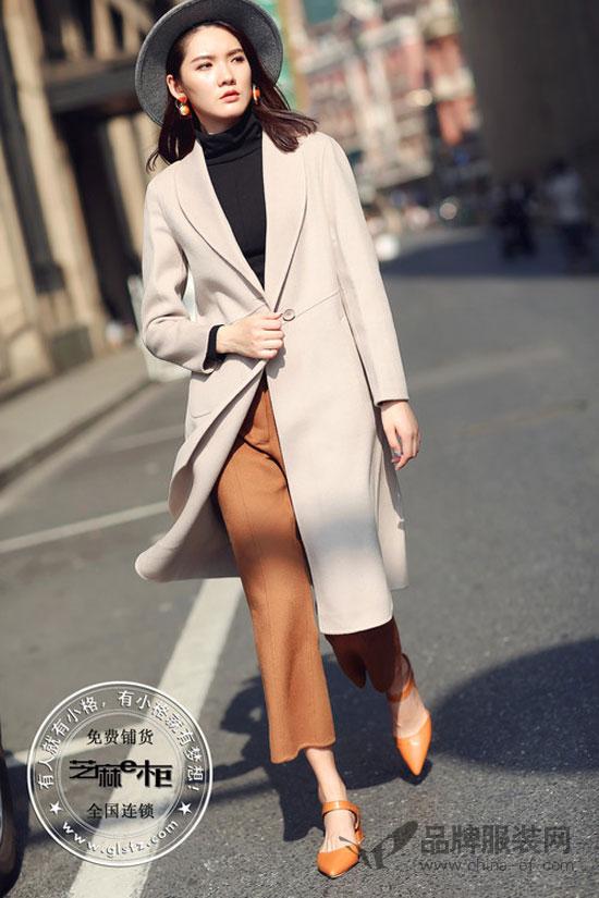 芝麻E柜品牌女装 一件大衣能给人带来的气质提升