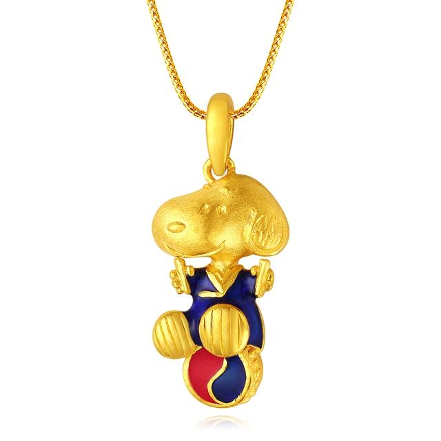 謝瑞麟珠宝品牌 匠心塑造灵动的史努比形象