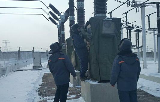 哈尔滨供电公司应对严寒天气 确保电网稳定运行