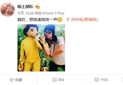 章子怡微博回整容谣言:想挨揍就吱一声