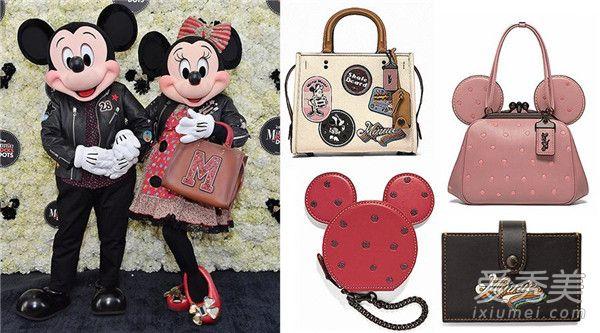 Disney×Coach限量Minnie Mouse推出可爱外型的少女新包系列