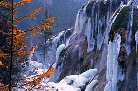 中国冬季十大旅游好去处之九寨沟