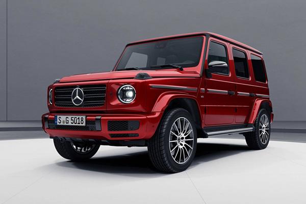奔驰发布全新G级车型 采用独特的红色涂装来彰显其特别之处