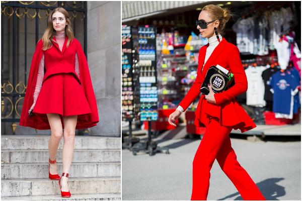红色和什么颜色搭配好看