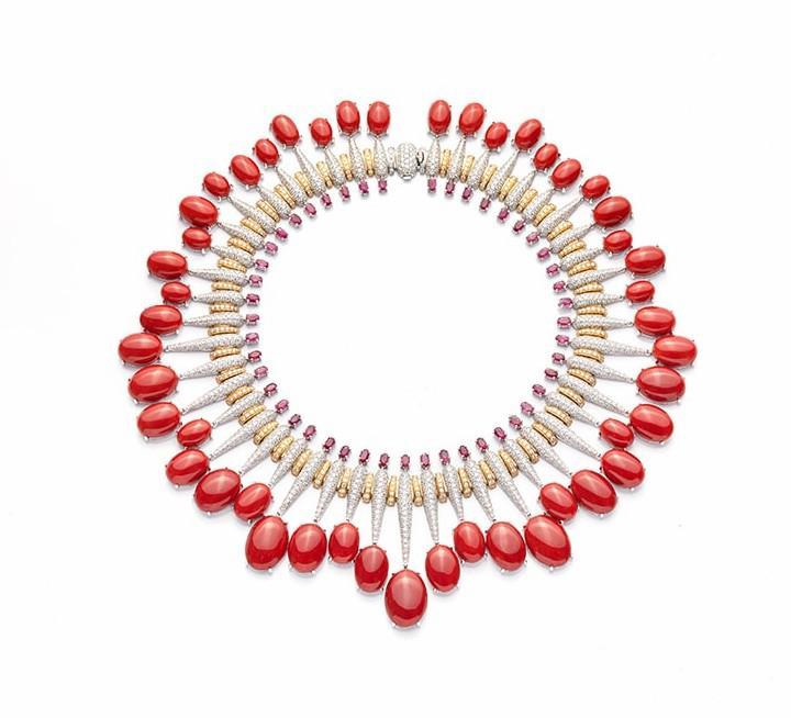 意大利珠宝品牌De Simone Milady珠宝系列 红色宝石热情奔放