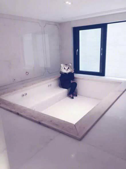 郭敬明晒新豪宅内部照 浴缸面积大的能装下10个人