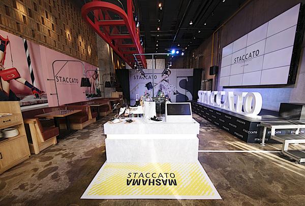 STACCATO举行 2018春夏新品预览会 展示独具格调的个性新品