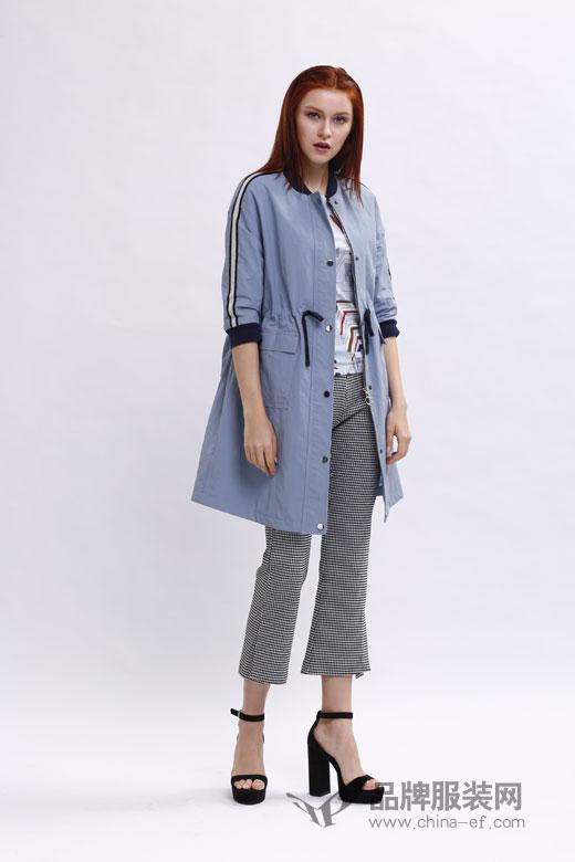 宝薇品牌2018春季新品 优雅的浅蓝色带你一起探索色彩中的秘密!