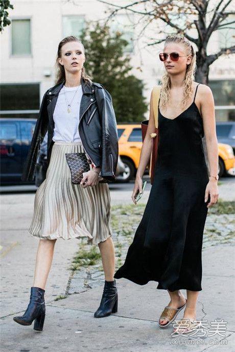 冬天百褶裙搭配技巧示范 百褶裙搭配毛衣和大衣能穿出不一样的风格