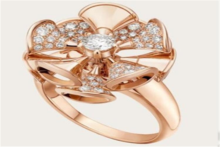 爱情最美的象征 宝格丽DIVA戒指_珠宝图片
