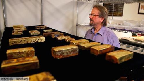 1857年沉船的大批黄金将展出 总价逾5000万美元