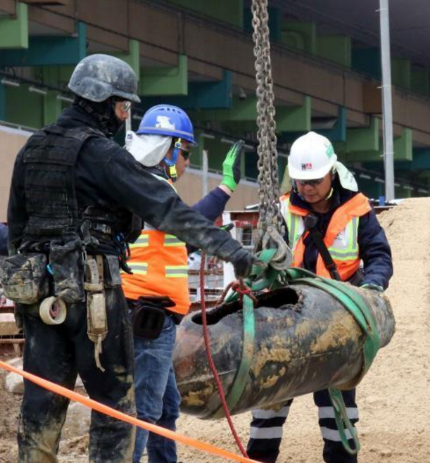 香港警方闹市拆弹 拆弹过程共花24小时