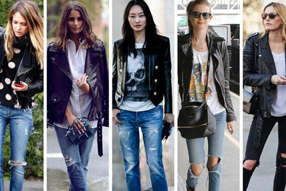 破洞牛仔裤怎么搭配-金投奢侈品