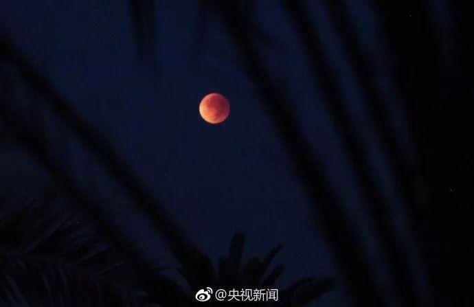"""""""红月亮""""伴随""""月全食""""现身天宇 观看攻略不可错过"""