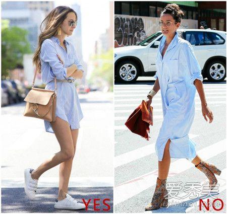 腰粗穿什么裙子好看?穿伞裙收腰衬衫裙是首选