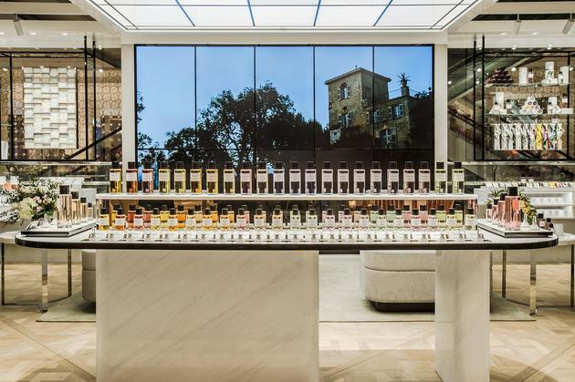 Dior迪奥香氛世家盛大启幕 为香氛限时精品店揭开华美序幕