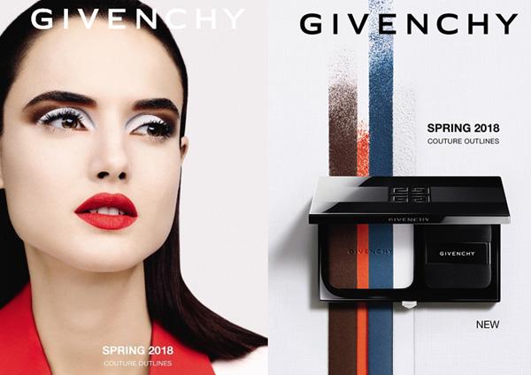 纪梵希推出2018年「订制美学」春夏彩妆系列