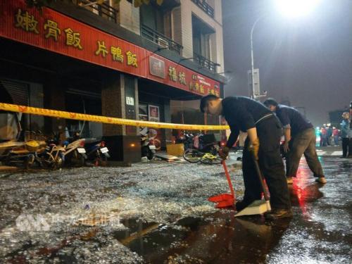 高雄一便当店气爆 造成16人受伤送医