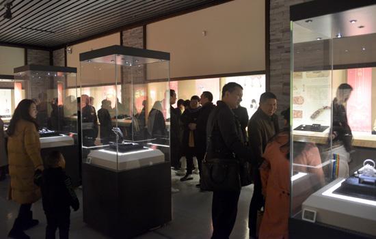 古代金银饰品展于温州博物馆开幕