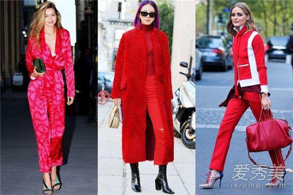 情人节必学红色穿搭 由浅入深让红色穿搭来得时尚又自然!