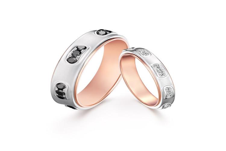 DARRY RING系列 结婚对戒 典雅款_珠宝图片