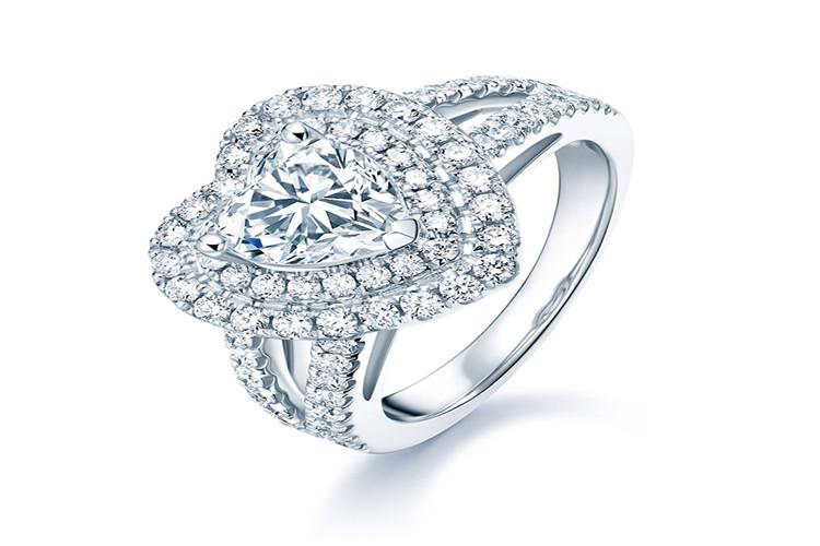 DARRY RING MY HEART系列 奢华款求婚钻戒_珠宝图片