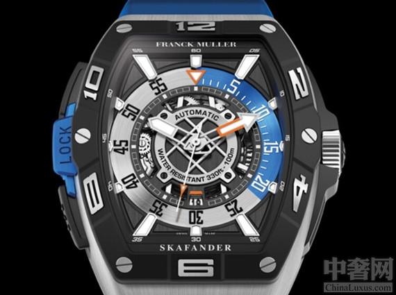 法兰克穆勒(Franck Muller)推出一款名为 Skafander的潜水手表