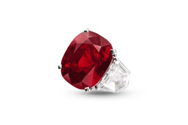 来自缅甸的日出红宝石 拍出了3042万美元的天价