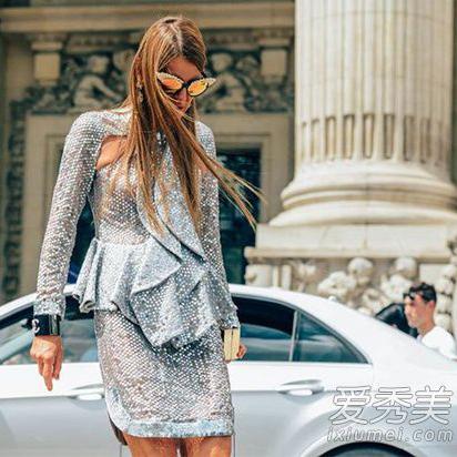 年会礼服什么颜色最适合 亮片元素是当下的流行趋势