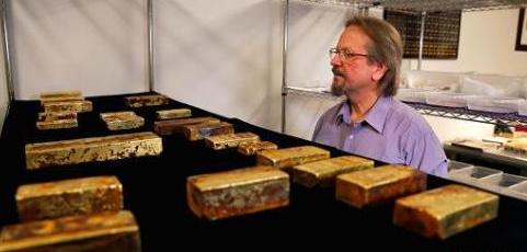 价值5000万美元沉船宝藏将公开贩卖 一枚金币可能值百万