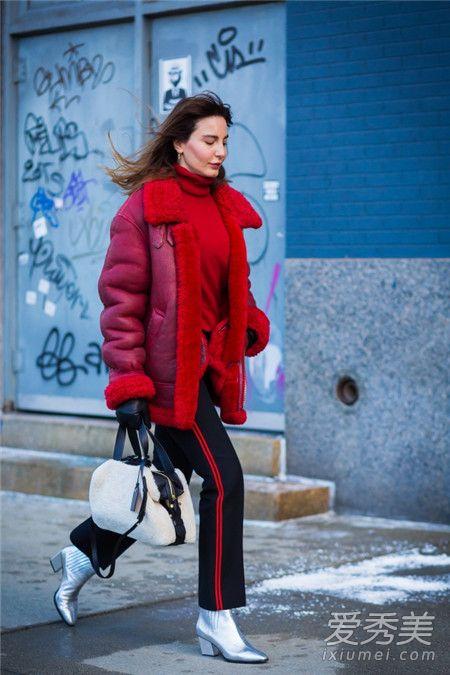 春节穿什么衣服好看 红色外套悄悄与她人拉开距离